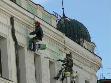 Ремонт и реставрация фасадов зданий Киев