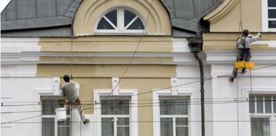 Ремонт и реставрация фасадов зданий в Киеве