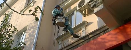 Монтаж  антенн, кондиционеров, кабеля и др. Киев