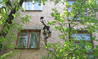Монтаж антенн, кондиционеров, кабеля Киев