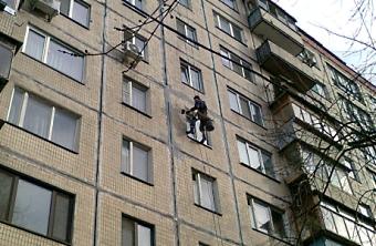 Герметизация межпанельных швов  Киев