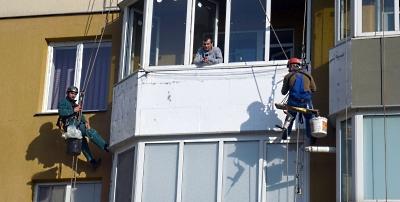 Утепление балкона в Киеве